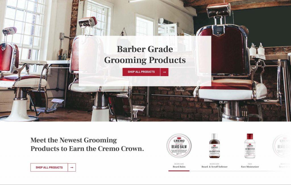 Cremo Company Website