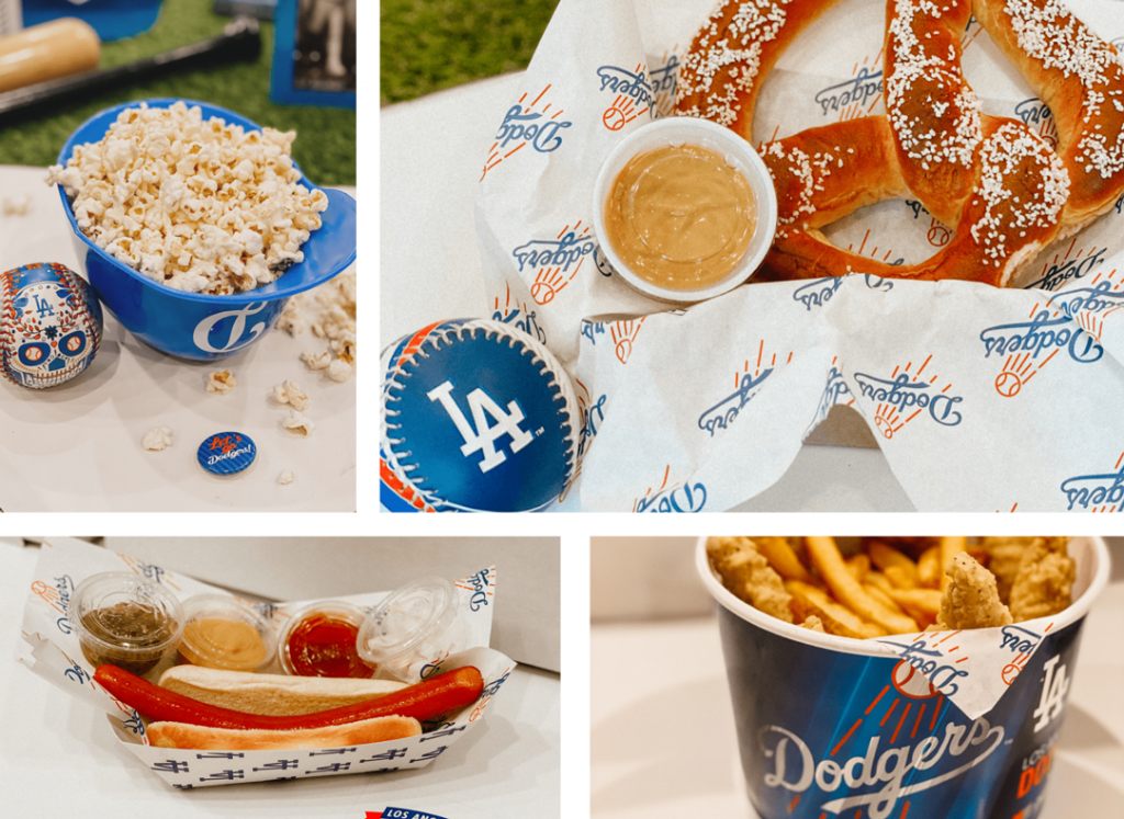 Postmates-LA-Dodgers-Home-Plates-Food-Collage