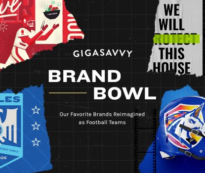 Gigasavvy brand bowl super bowl creative blog hero