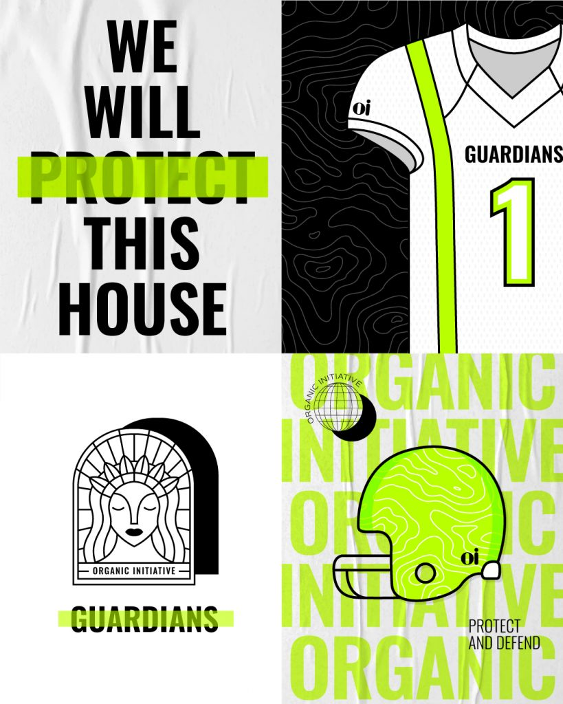 oi guardians football uniform brittany davis organic initiative