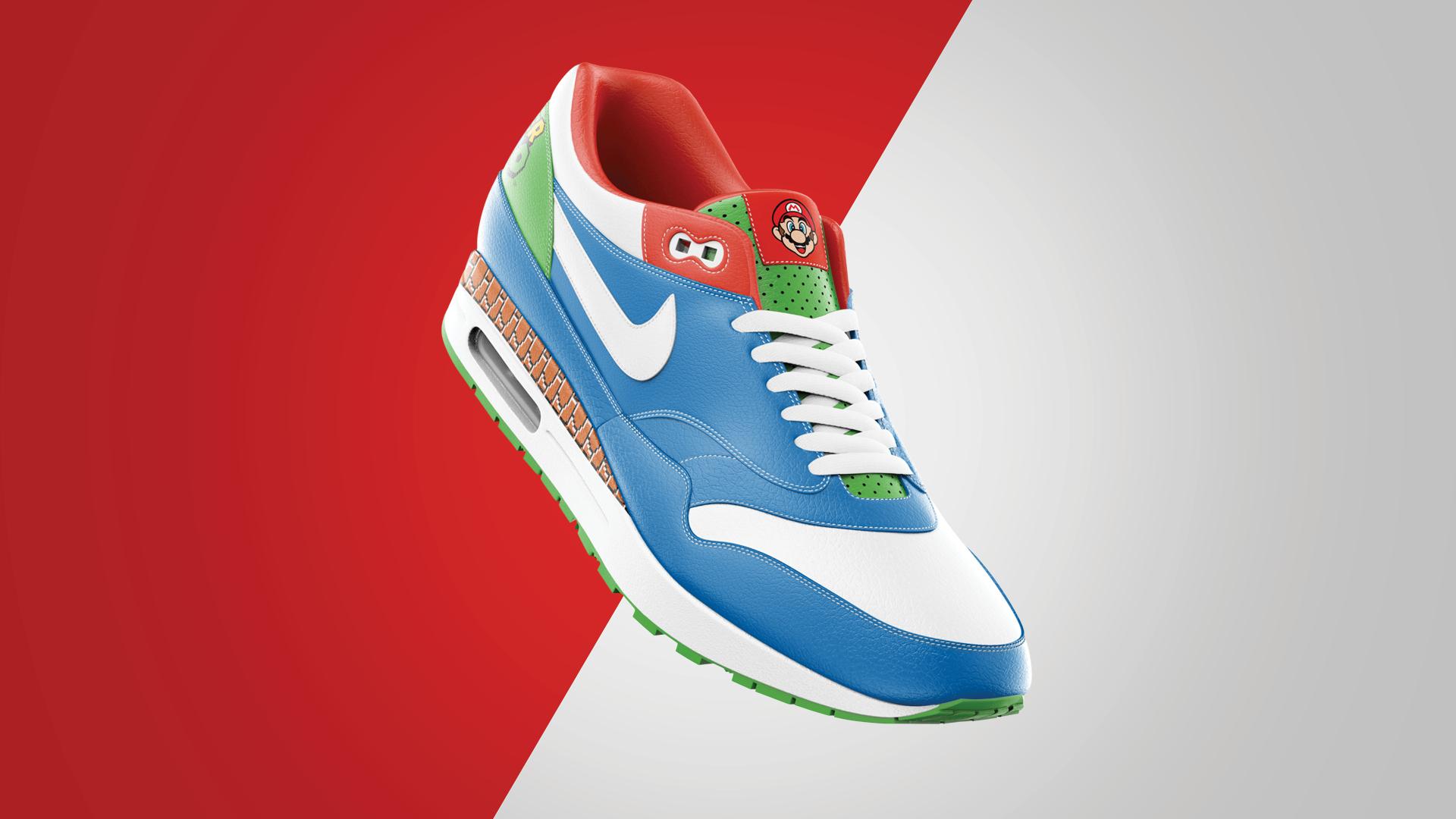 Mario Day Nike Air Max Collab Tyler Oslie Gigasavvy