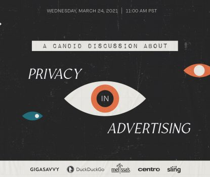 Privacy In Advertising Webinar Blog