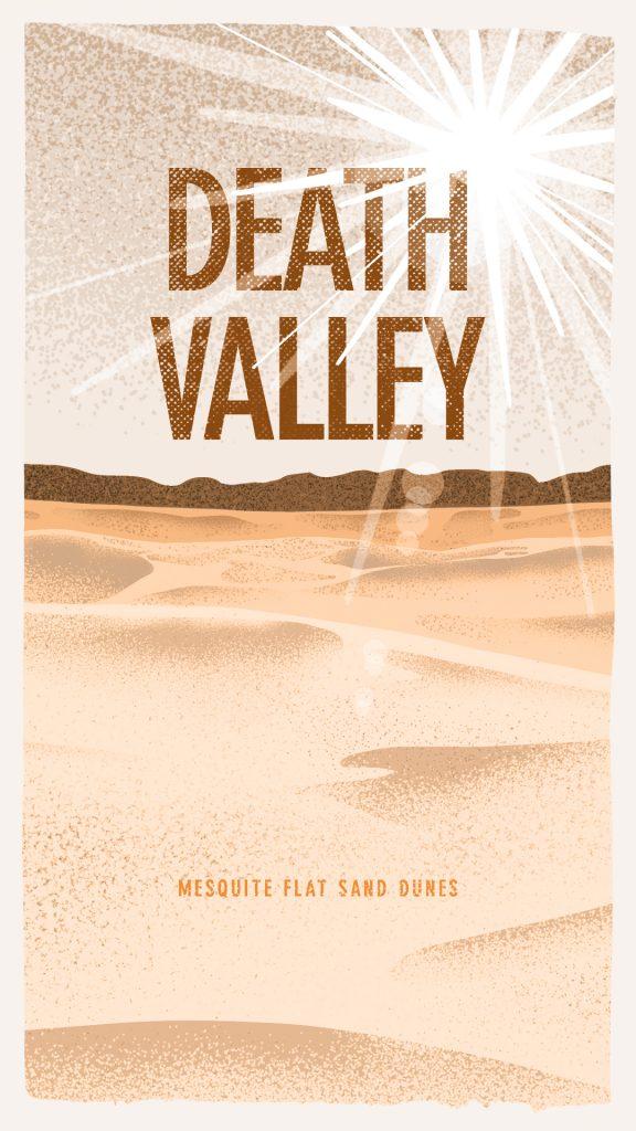 Death Valley National Park Poster Ryan Schram Gigasavvy