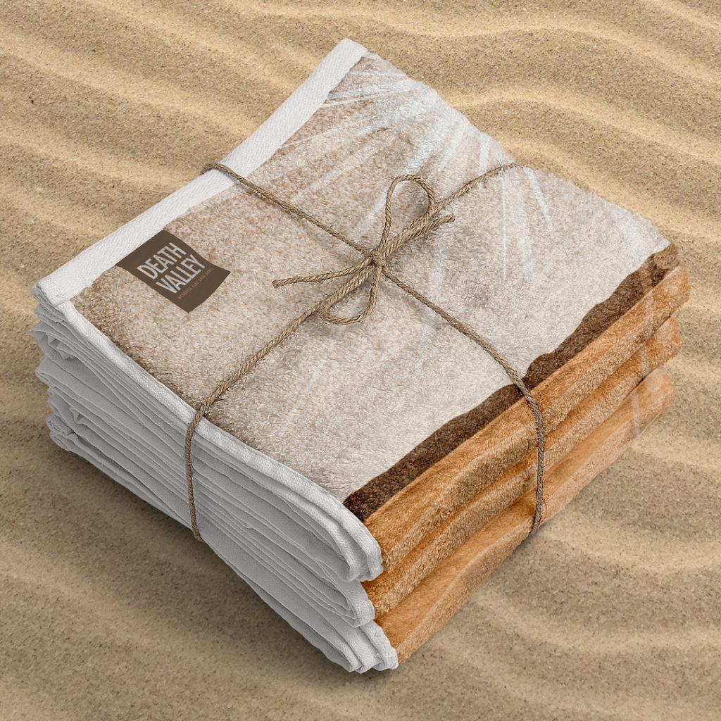 Death Valley Beach Towel Ryan Schram Gigasavvy