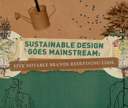 Sustainable Design Goes Mainstream Blog Header