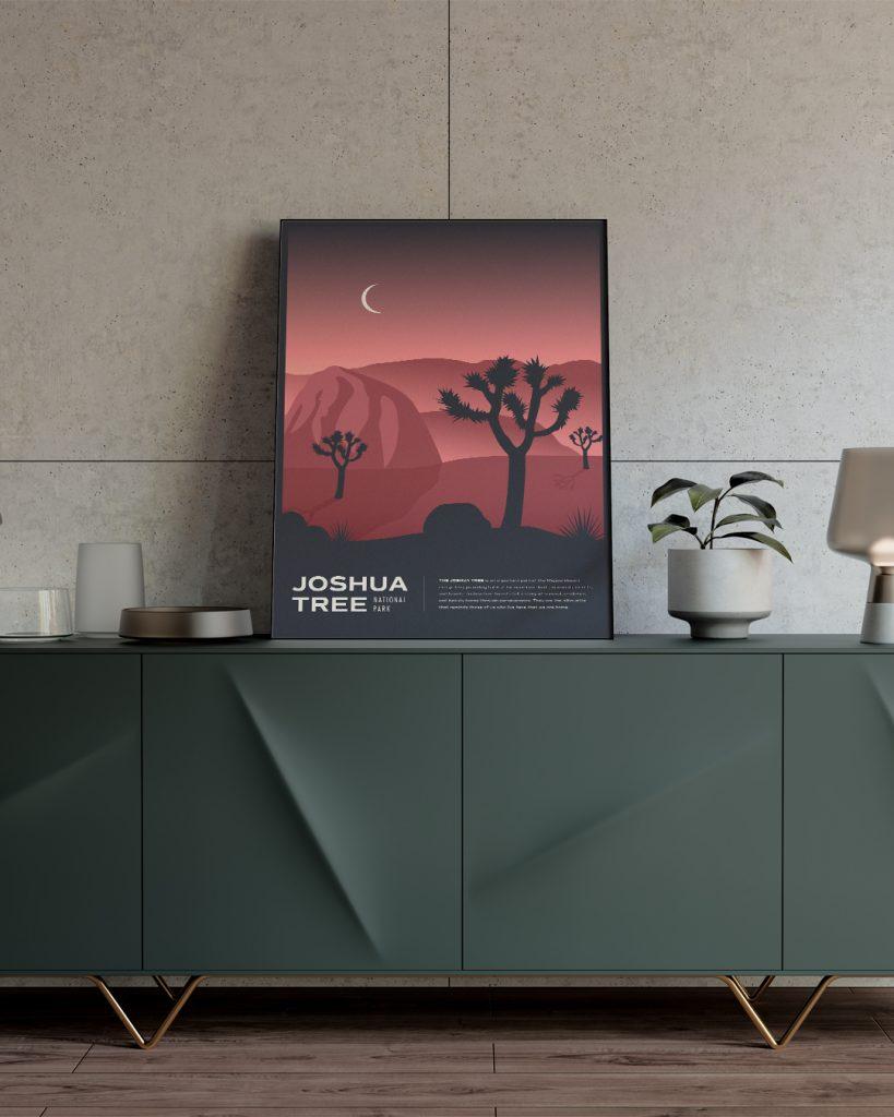 Joshua Tree National Park Framed Poster by Brittany Davis Gigasavvy