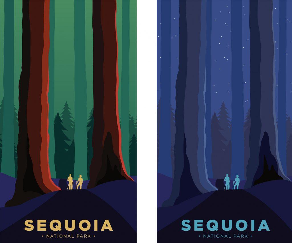 Sequoia National Park Week Posters Tyler Oslie Gigasavvy