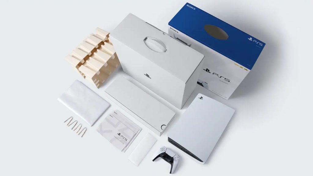 sony playstation - ps5 recyclable packaging