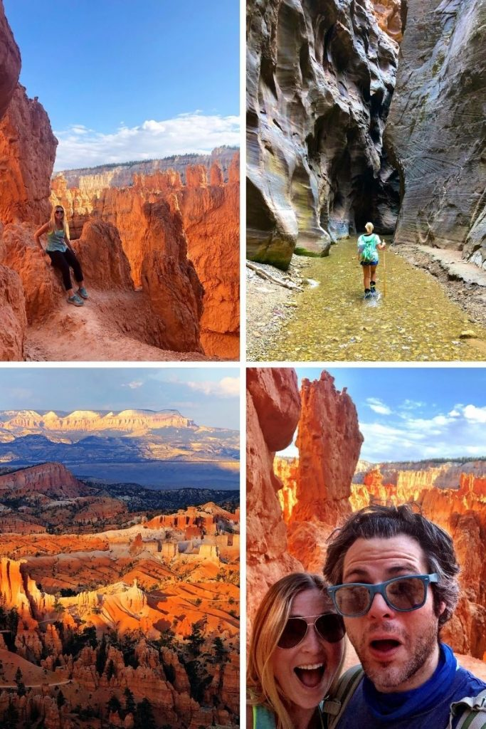 Hiking Zion National Park with Afton