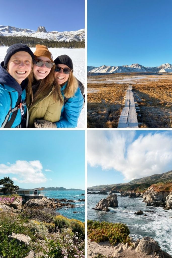 brittany roadtrippin with family mammoth lakes big sur carmel