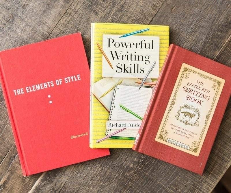 writing books for good writing