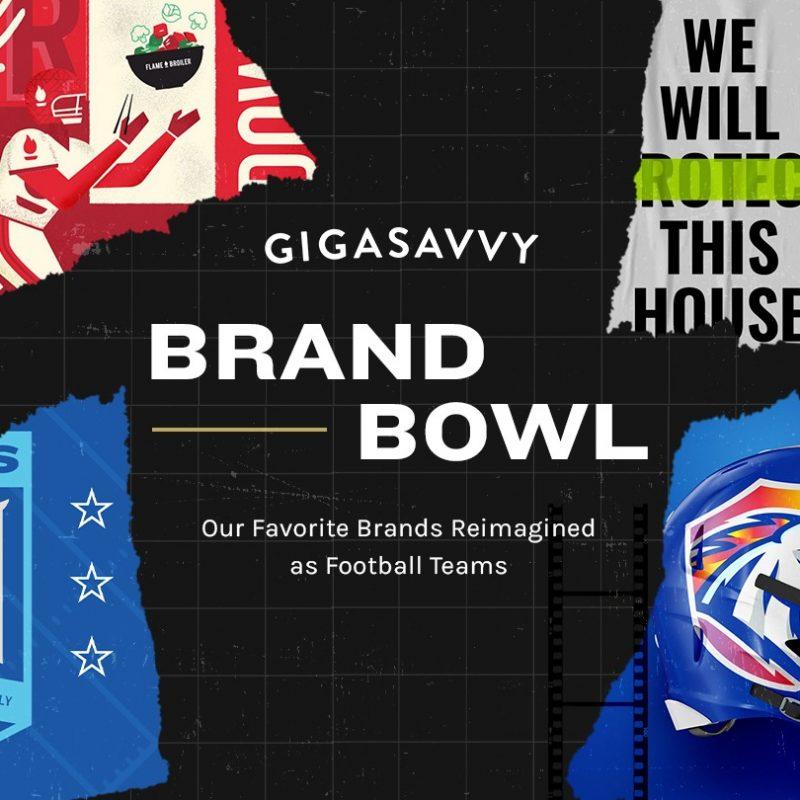Gigasavvy brand bowl super bowl creative blog hero